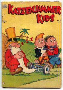 Katzenjammer Kids #17 1951- Sci-fi story flying saucer VG-