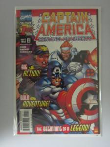 Captain America Sentinel of Liberty (1998) #1, 8.0/VF