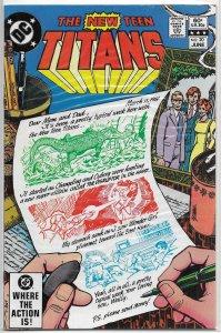New Teen Titans (vol. 1, 1980) #20 FN Wolfman/Perez