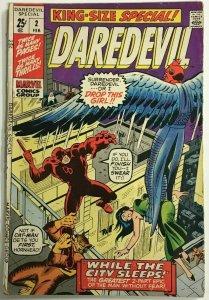 DAREDEVIL ANNUAL#2 VG/FN 1971 MARVEL BRONZE AGE COMICS
