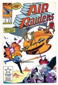Air Raiders (1987 Marvel/Star Comics) #1-4 FN/VF