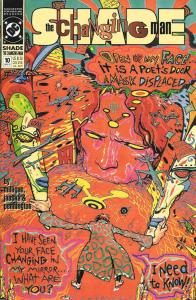 Shade, The Changing Man (2nd Series) #10 VF/NM; DC   save on shipping - details