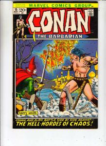 Conan the Barbarian #15 (May-72) NM/NM- High-Grade Conan the Barbarian
