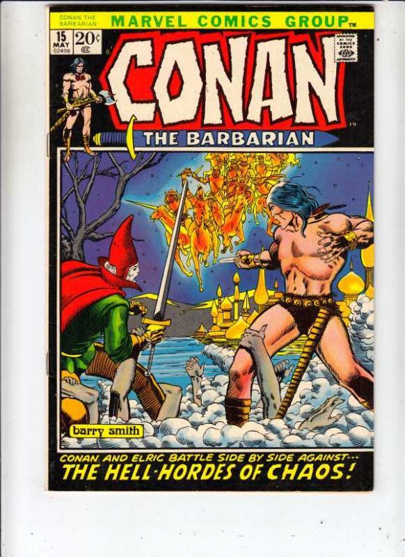 Conan the Barbarian #15 (May-72) NM/NM- High-Grade Conan the Barbarian