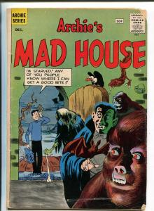 ARCHIE'S MAD HOUSE #16 1961-MLJ/ARCHIE-HORROR ISSUE-DRACULA-WOLFMAN-vg