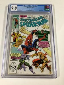 Spectacular Spider-man 169 Cgc 9.8 White Pages Marvel 1st Outlaws