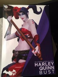 HARLEY QUINN Bust Statue, MIB, Unopened, 7, Jim Lee, Femme, more HQ in sto