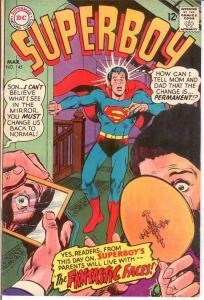 SUPERBOY 145 FINE NEAL ADAMS COVER    March 1968 COMICS BOOK
