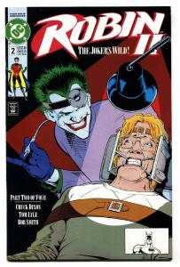 ROBIN II #2 1991-Joker cover-Chuck Dixon-NM-