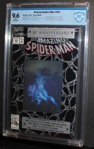Amazing Spider-Man #365  /  CBCS 9.6 NM+  / Ist Spiderman 2099  1992