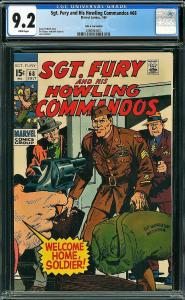 Sgt Fury #68 (Marvel, 1969) CGC 9.2