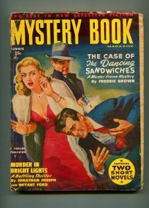 MYSTERY BOOK SUMMER 1950-THRILLING-FREDERIC BROWN-D.L. CHAMPION-VG-