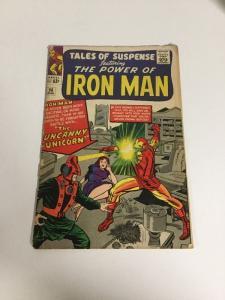 Tales Of Suspense 56 Vg- Very Good- 3.5 Iron Man