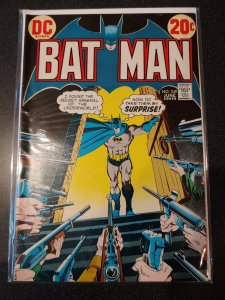 BATMAN # 249 WHITE PAGES ROBIN PISTOL AND RIFLE COVER DC COMICS