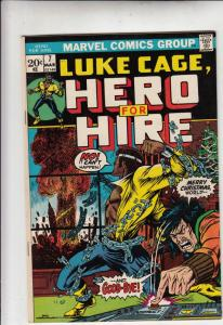 Luke Cage Hero for Hire #7 (Mar-73) NM- High-Grade Luke Cage