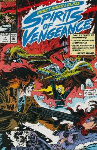 Ghost Rider/Blaze: Spirits of Vengeance #7 VF/NM; Marvel | save on shipping - de