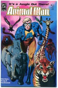 ANIMAL MAN #1 2 3 4 6 7 8 9 10-89 + Annual #1, VF/NM, Grant Morrision, 1988