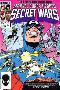 Marvel Super-Heroes Secret Wars #7, NM- (Stock photo)