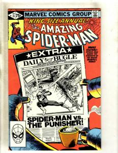 Amazing Spider-Man ANNUAL # 15 VF Marvel Comic Book Punisher Appearance HY1