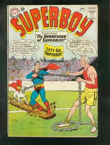 SUPERBOY #110 1964-DC-SILVER AGE ISSUE-GLOSSY COVER-RAR VG/FN