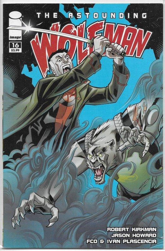 Astounding Wolf-Man   #16 VG/FN
