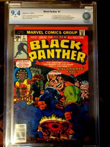 BLACK PANTHER #1 NM 9.4 1977