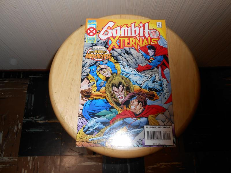 Gambit and the X-Ternals (1995) #2 Apr 1995 Cover price $1.95 Marvel