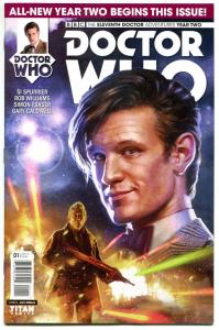 DOCTOR WHO #1 A, NM, 11th, Tardis, 2015, Titan, 1st, more DW in store, Sci-fi