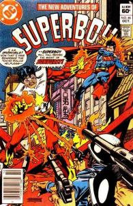 New Adventures of Superboy #46, VF+ (Stock photo)
