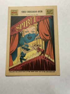 The Spirit Comic Book Section Sunday July 12 1942 Nm Near Mint