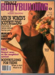 Female Bodybuilding #7 1/1988-Penny Price-Diana Dennis-Marjo Selin-pix-info-VF
