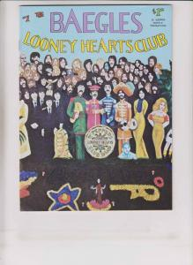 the Baegles Looney Hearts Club #1 VF (1st) print BEATLES LONELY HEARTS CLUB BAND