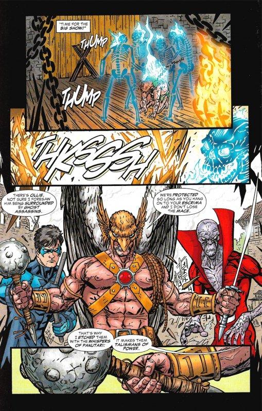 BRAVE AND THE BOLD Vol3 #14,15 (2008) 2-Ish Story Arc • Deadman, GA, Hawkman +