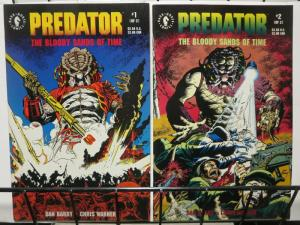 PREDATOR BLOODY SANDS OF TIME (1992 DH) 1-2