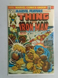 Marvel Feature #12 Thing and Iron Man 4.0 VG (1973 1st Series)