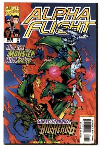 ALPHA FLIGHT VOL. 2  #17comic book -FIRST BIG HERO SIX-LOW PRINT RUN-NM