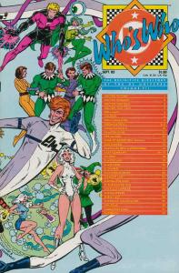 Who's Who: The Definitive Directory of the DC Universe #7 VG; DC | low grade com