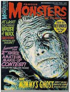 FAMOUS MONSTERS 36 VG classic 1965
