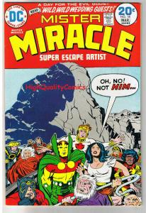 MISTER MIRACLE #18, VF-, Jack Kirby, New Gods, 1971, more JK in store