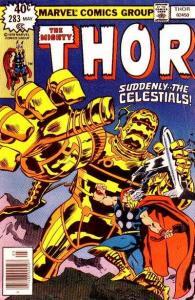 Thor (1966 series) #283, NM (Stock photo)