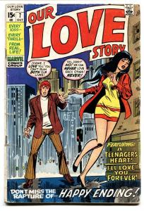 Our Love Story #7 1970-Marvel-John Buscemi-Dick Ayers G