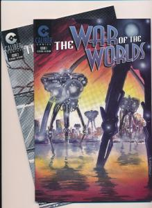 Caliber Comics The WAR of the Worlds #1&2 VF (SRU101)