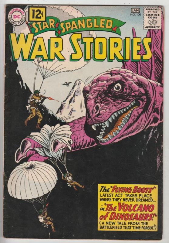 Star Spangled War Stories #100 (Jan-62) VG/FN+ Mid-Grade War That Time Forgot...