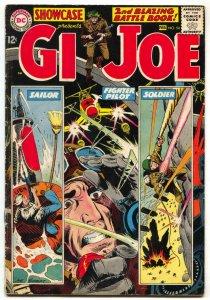 Showcase Comics #54 1965- GI JOE- Kubert art VG