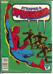 Spiderman #40 1984-Marvel-foreign language-Stan Lee-Roger Stern-G/VG