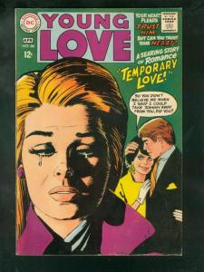 YOUNG LOVE #66 1968-DC ROMANCE- FN