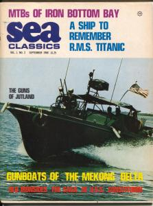 Sea Classics #2 9/1968-Challenge-2nd issue-Old Ironsides-Titanic-G