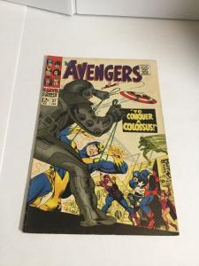 Avengers 37 Vg+ Very Good+ 4.5 Marvel Comics Silver Age
