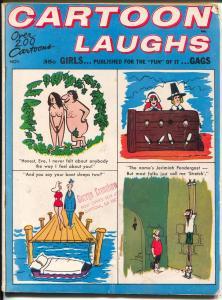 Cartoon Laughs November 1967-Dan DeCarlo-Orehek-Boltinoff Bob Zahn-P/FR