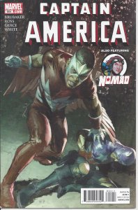 Captain America #604 (May 2010) - Bucky/Captain America, Falcon, Redwing, Nomad